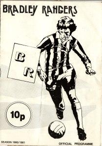 Bradley Rangers programme