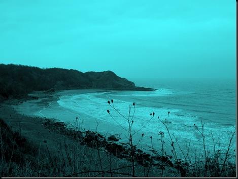 colorised coast