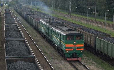 Riga yards coal train.NEF