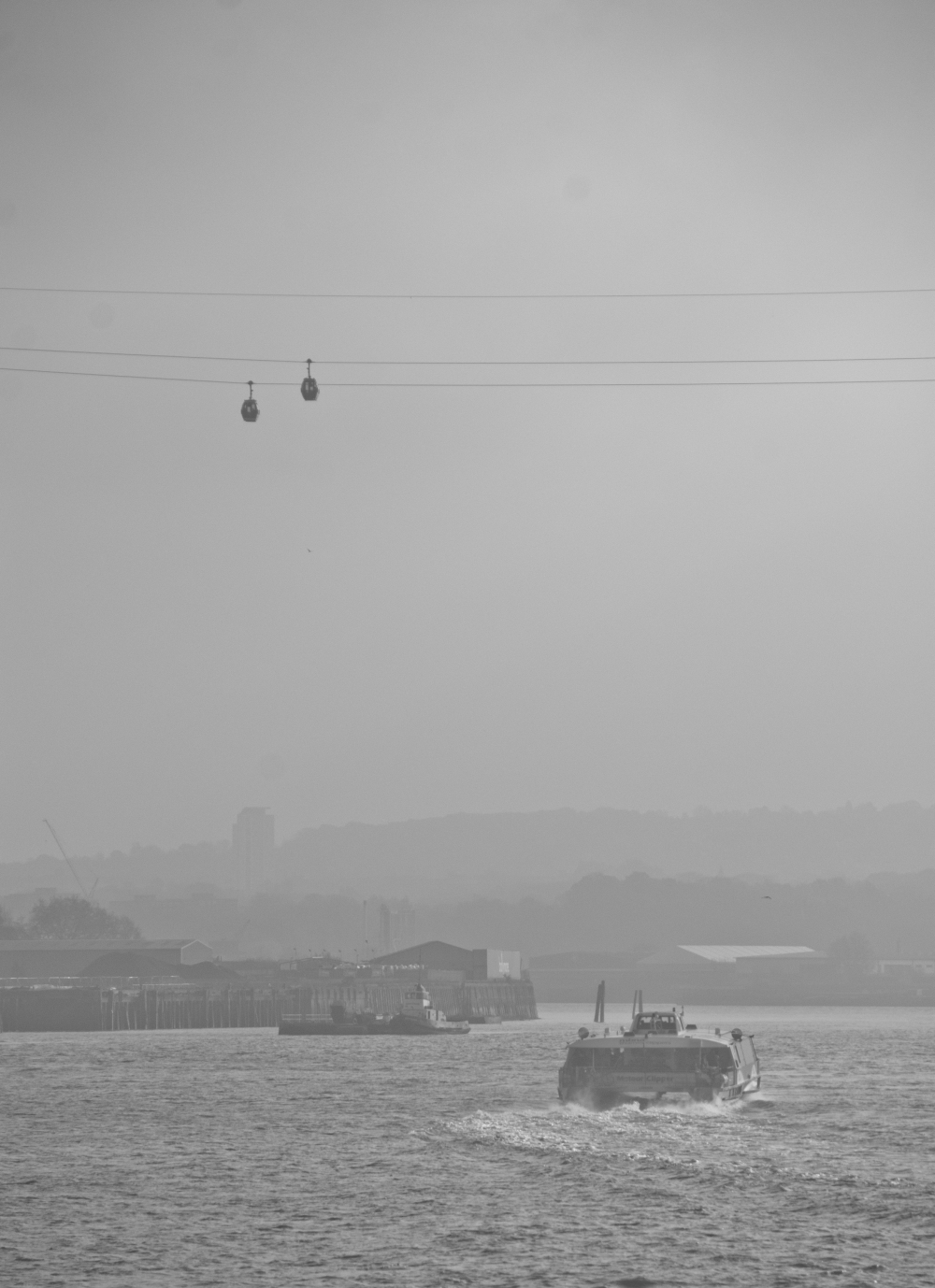clipper and cable cars